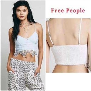 c629ead7428e3 Free People Tops - Free People FP ONE Geo Lace Bralette